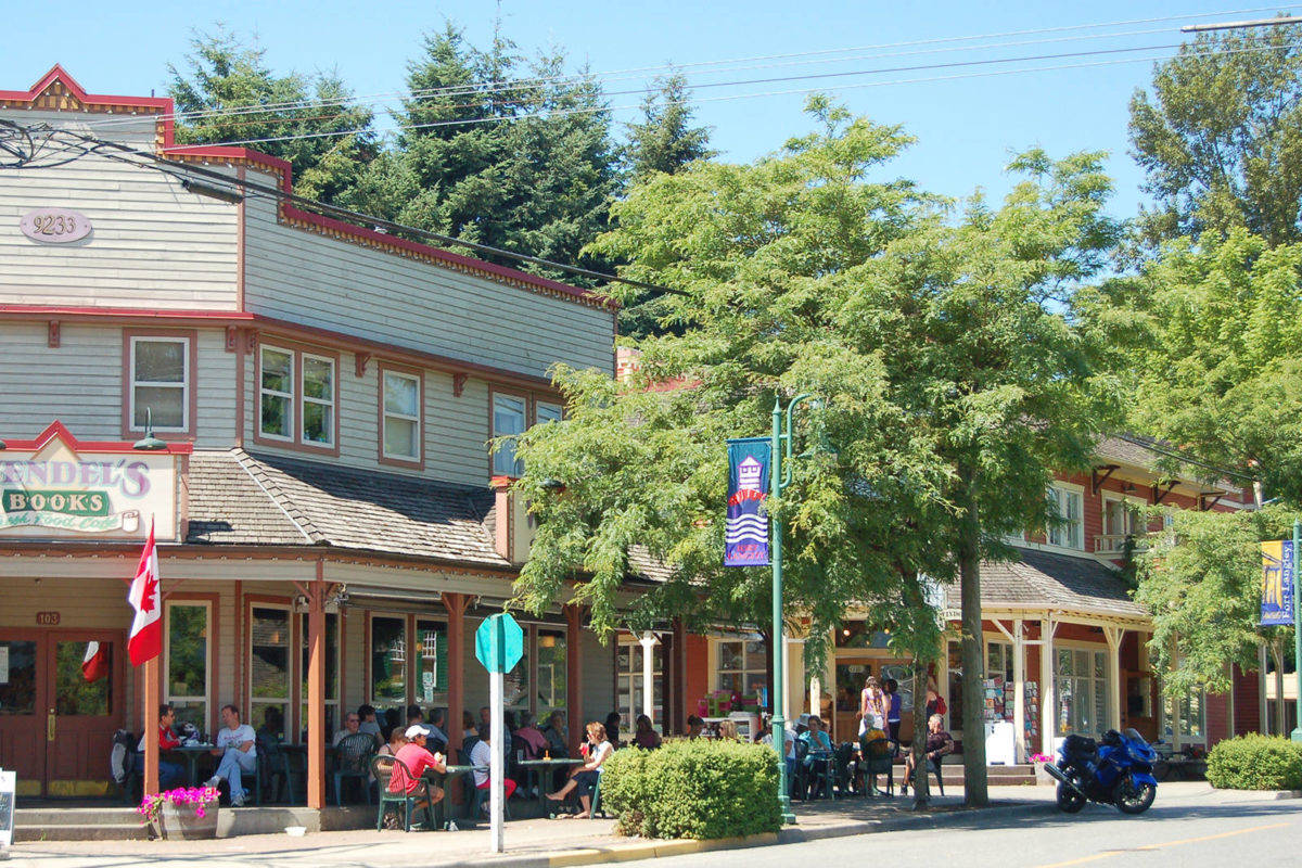 The village of Fort Langley. (Jennifer Blyth/Special to the Langley Advance Times)