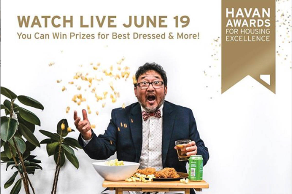 The The Homebuilders Association Vancouver is hosting its Housing Excellence awards online, in a livestream, on Friday, June 19, 2020. (HAVAN)