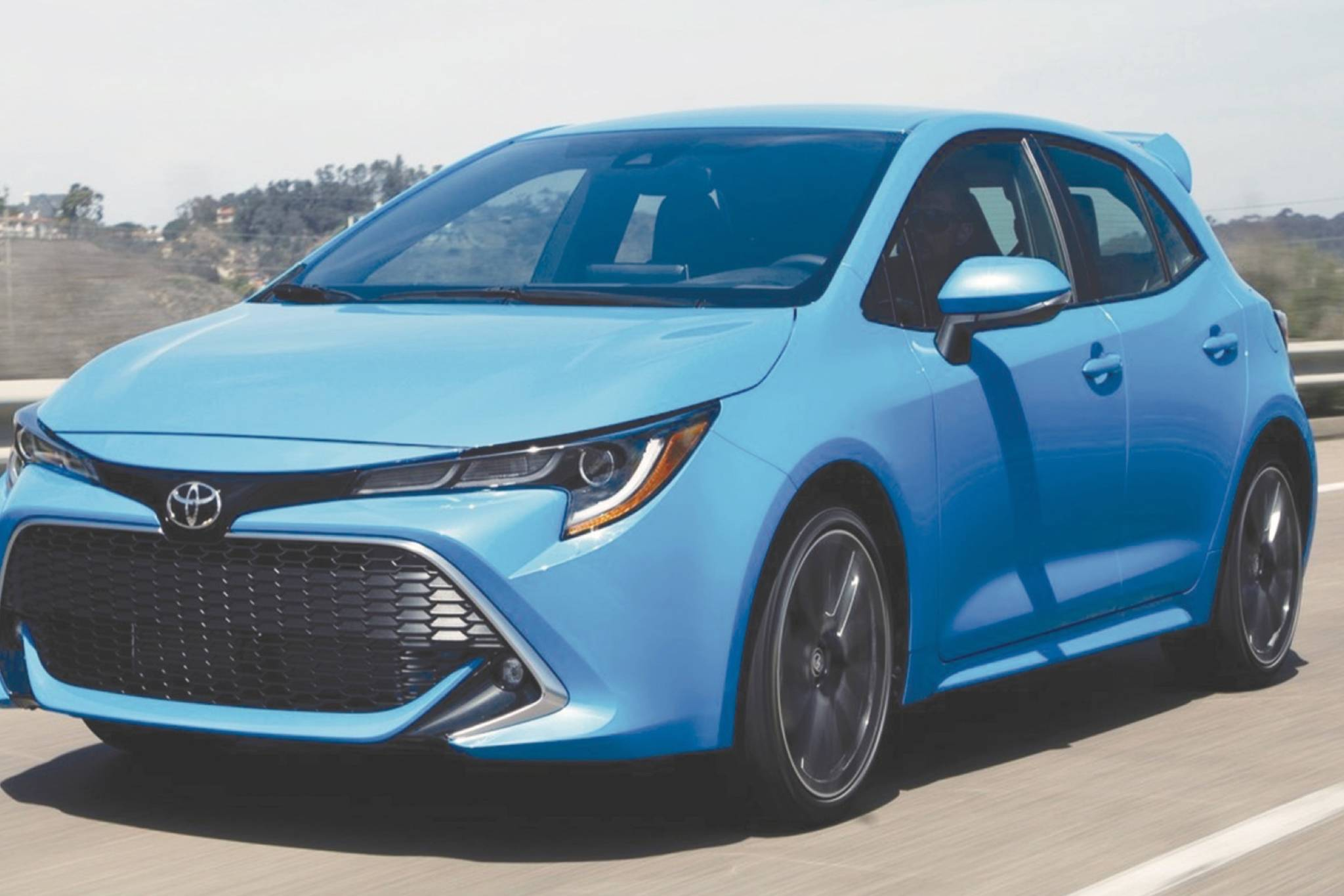 The Corolla GR will be based on the hatchback and will come with a 257-horsepower three-cylinder engine and a six-speed manual transmission. Photo: Toyota.