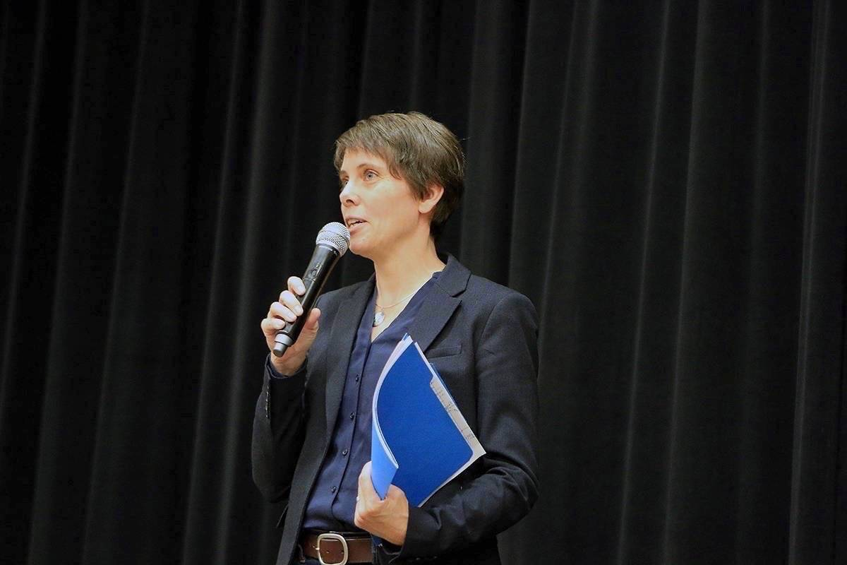 Cowichan Valley MLA Sonia Furstenau is on the campaign trail again for the leadership of the BC Green Party after the party restarted the campaign on June 15. The campaign was suspended in March due to the COVID-19 crisis. (File photo)