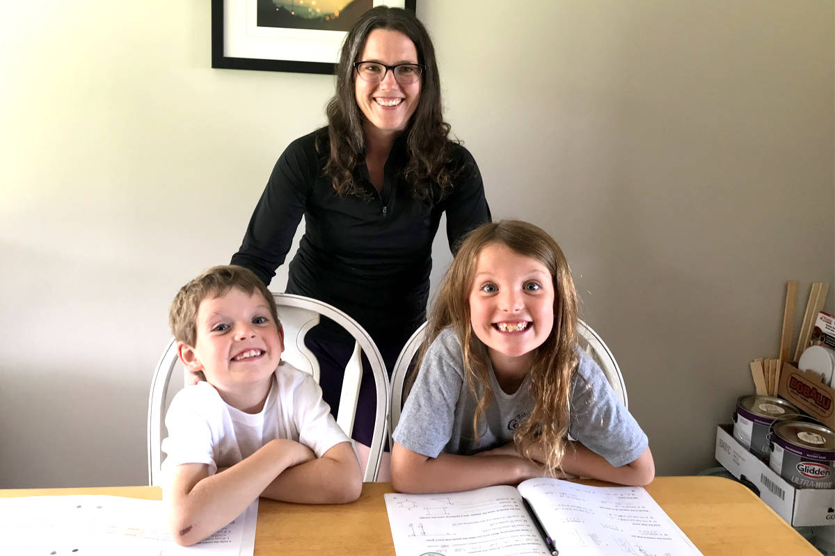 Carrie Branstetter is a teacher with Nelson-based CHEK ABC, and also a parent of students who take part in independent online education. She's concerned by upcoming provincial cuts to funding for 16 online only schools in B.C. Photo submitted