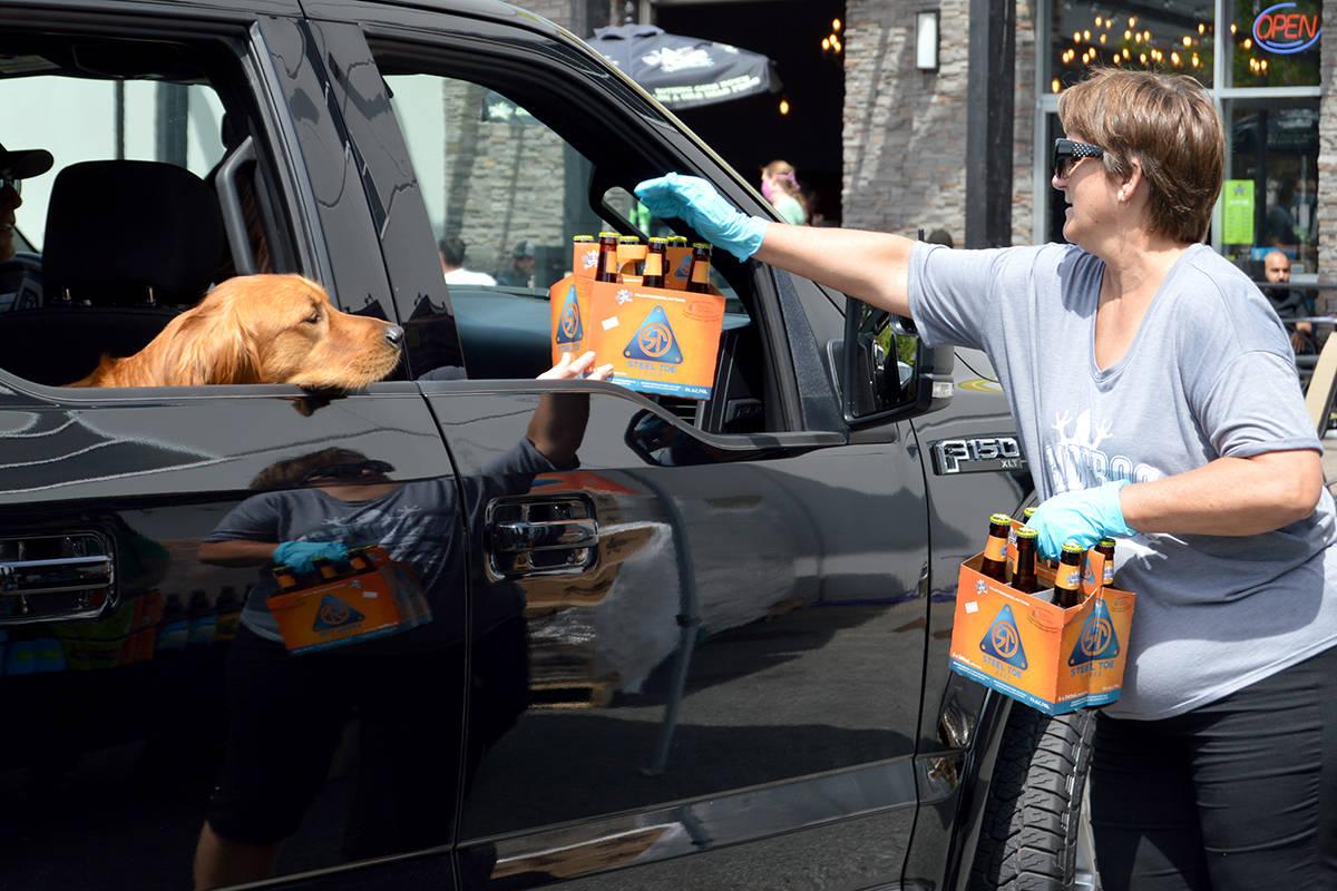 VIDEO: Free beer for frontline workers