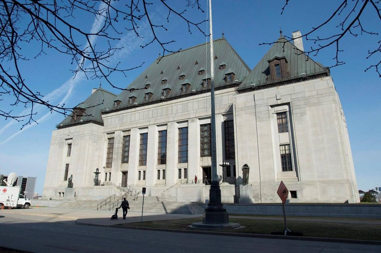 Supreme Court of Canada (The Canadian Press)