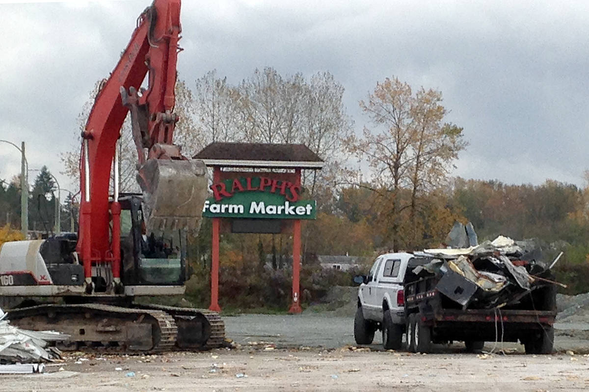 Ralph's Farm Market opened its new larger operation in early 2018. (Langley Advance Times files)