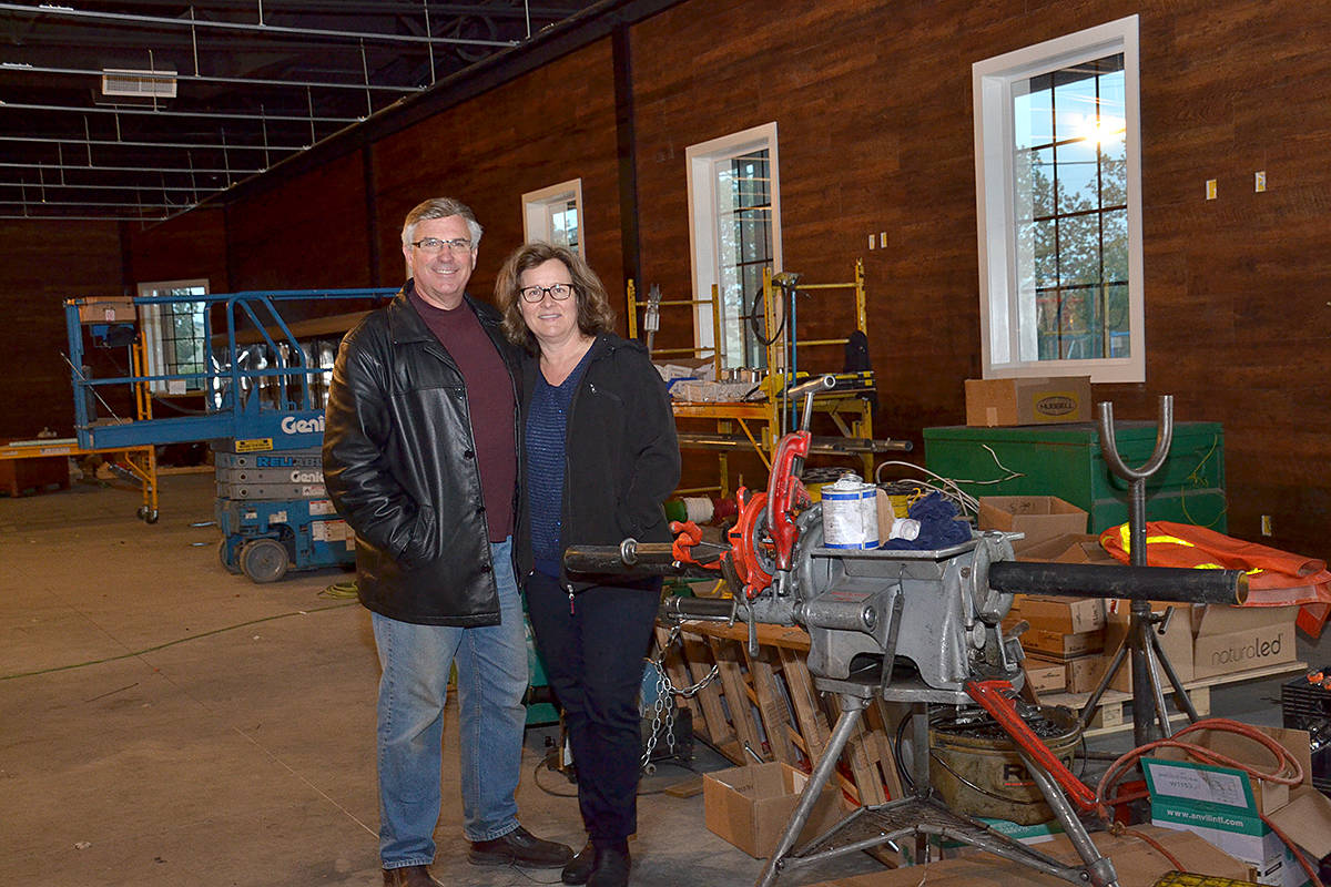 Ralph and Elizabeth Merk started Ralph's Farm Market 40 years ago. (Langley Advance Times files)