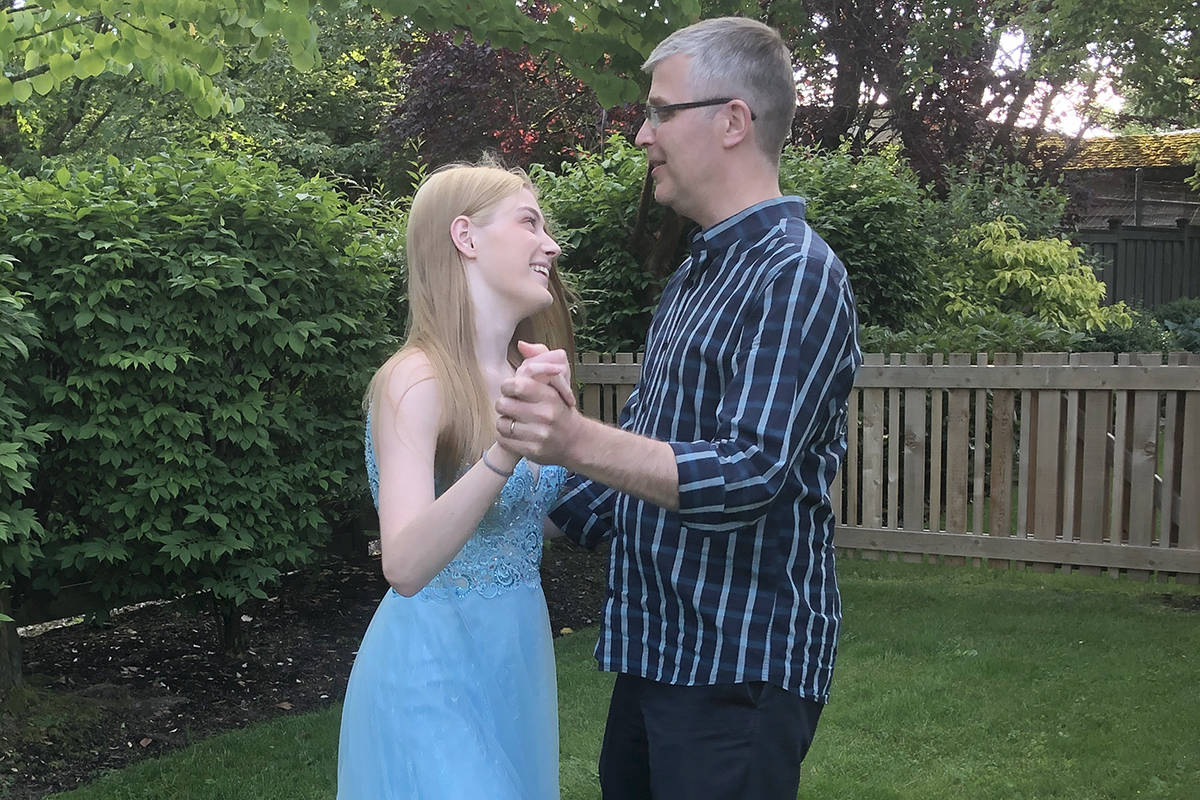 Leigh-Ann Harris nominated her dad, David, whom she said is an amazing teacher and does impromptu dancing with his daughters, including Kennedy.