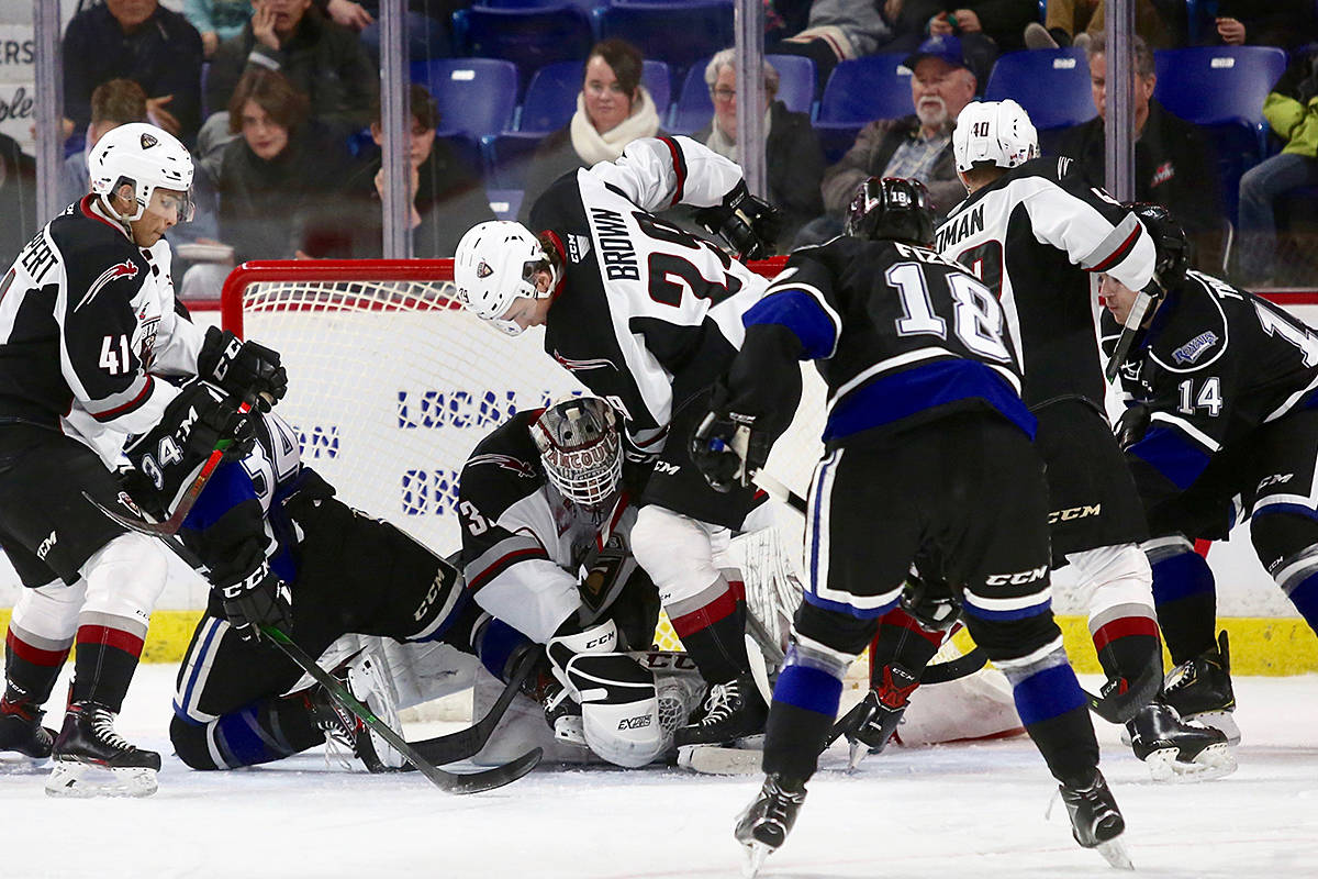 Vancouver Giants are among the 60+ teams named in a cross-Canada lawsuit alleging hazing, bully, and abuse of young players over the past four decades. (Rik Fedyck/Vancouver Giants files)