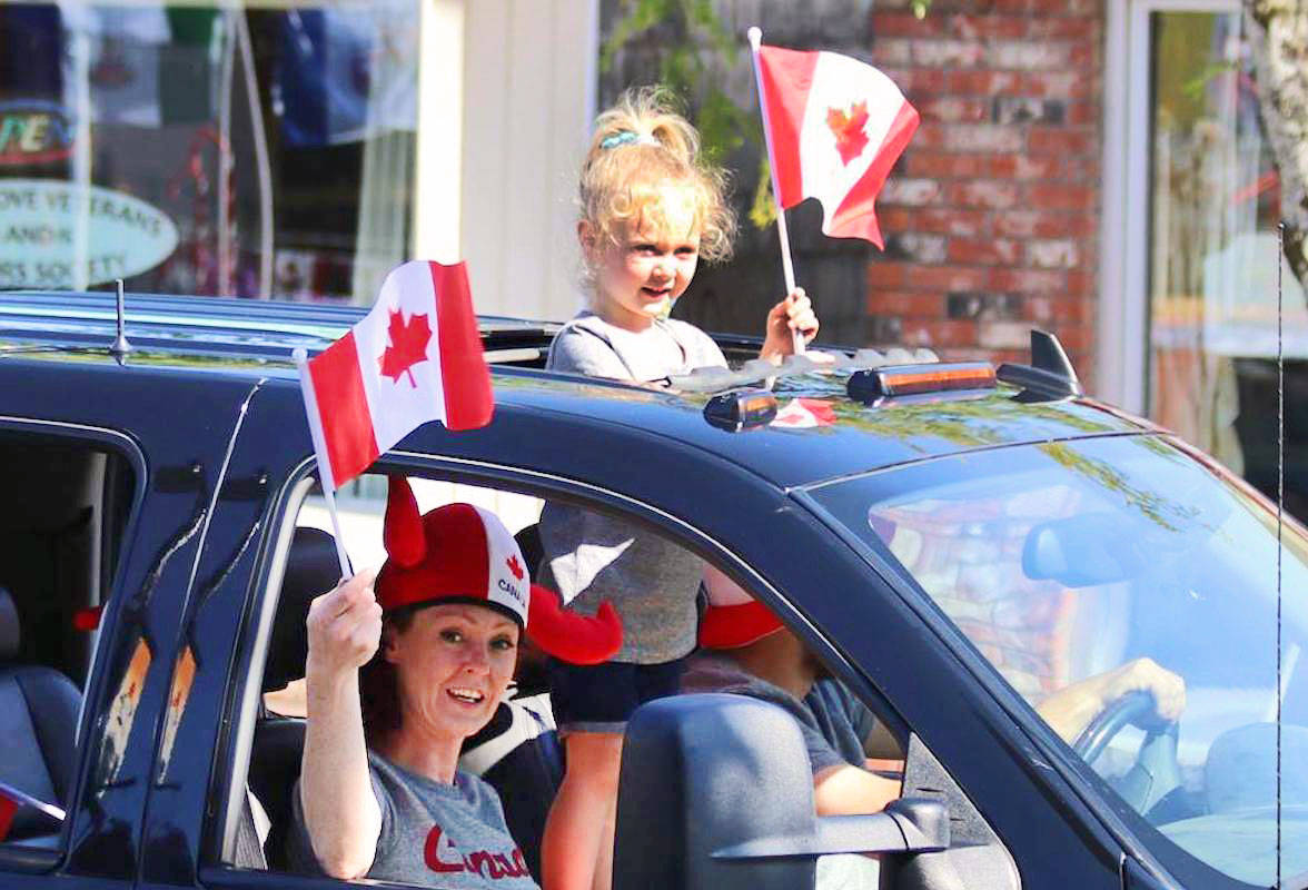 Each summer, the Aldergrove community has its own Canada Day parade. This year, amid the COVID-19 pandemic, the parade will go on with social distancing measures in place. (Art Bandenieks/Aldergrove Star)