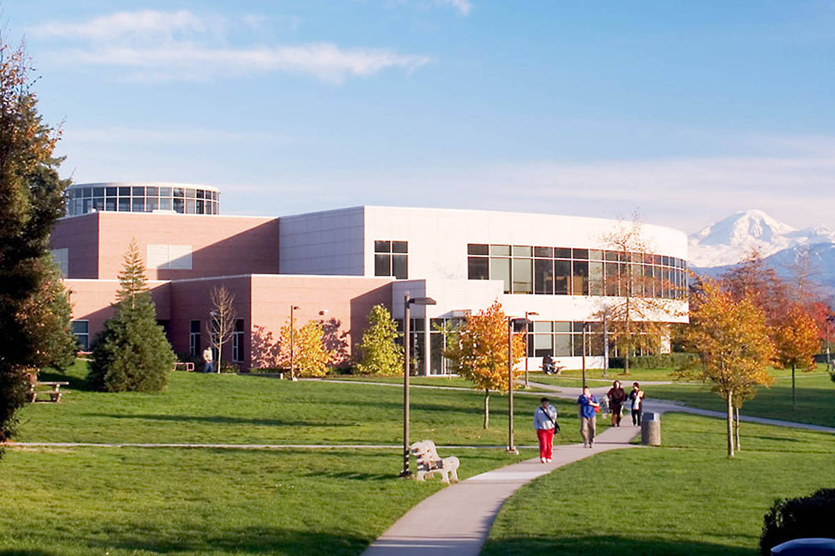 University of the Fraser Valley campus in Abbotsford.