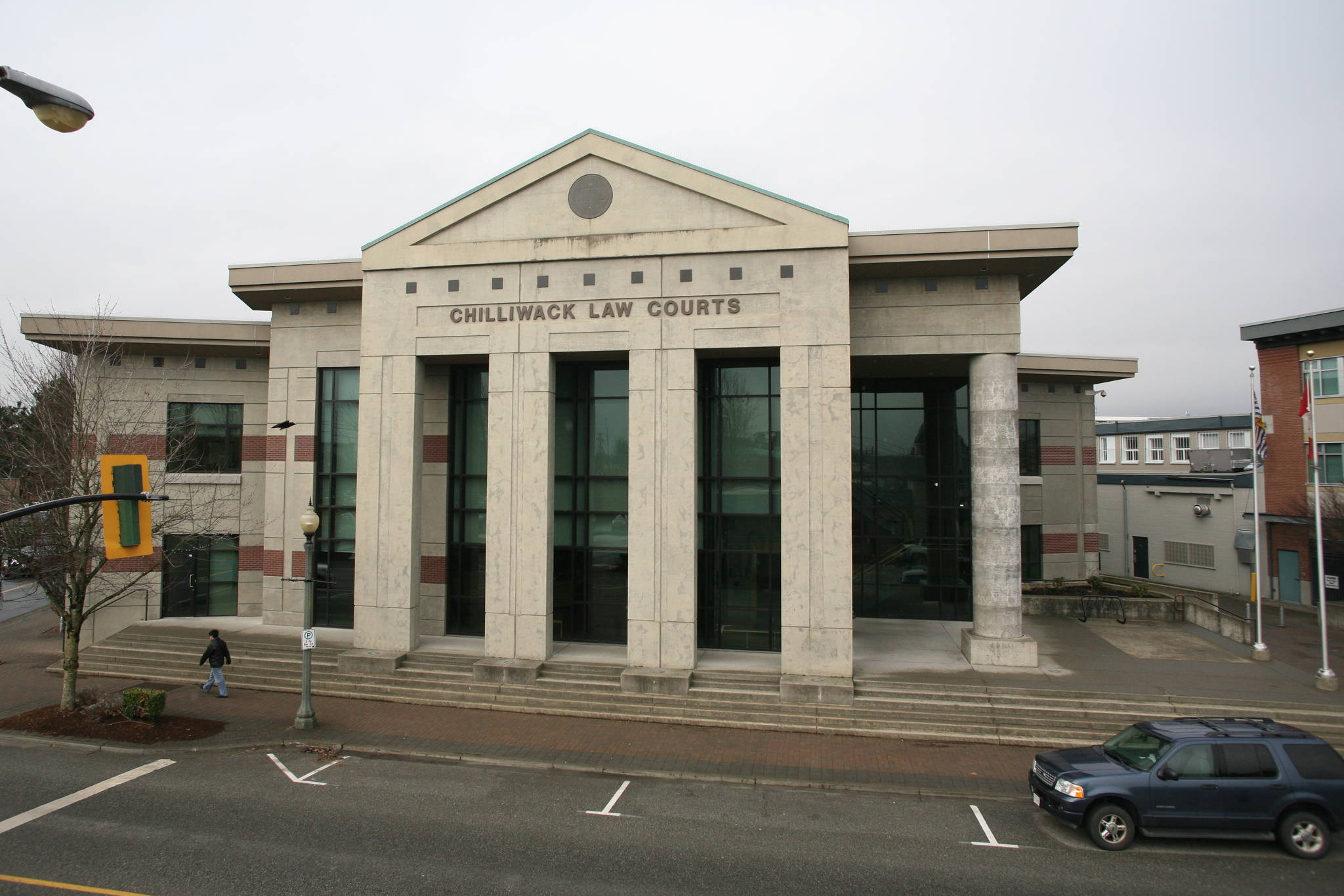 Chilliwack Law Courts. (Progress file)