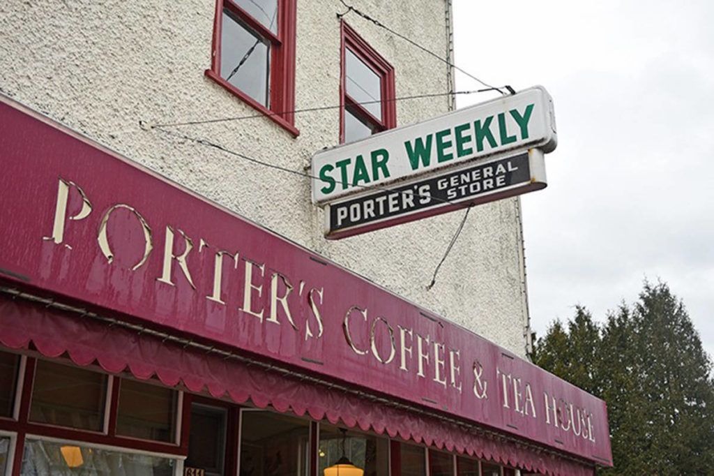 Porter's Coffee and tea House in Murrayville is offering livestream concerts every Friday. (Langley Advance Times files)