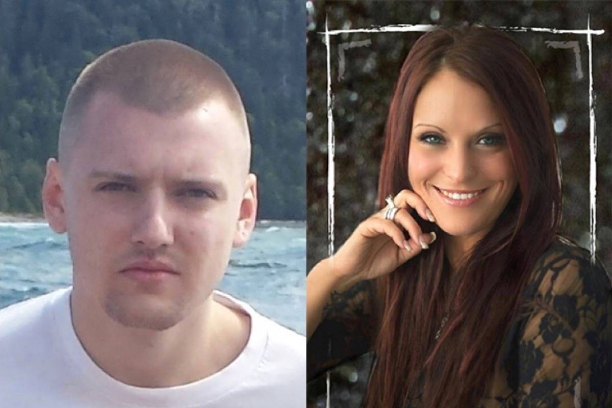 Avery Levely-Flescher, 20, of Surrey, and Brandy Petrie, a 34-year-old Burnaby woman were shot and killed on a rural road in Langley, early Friday morning, Sept. 1, 2017. On Tuesday, June 23, 2020, Travis MacPhail of Aldergrove was sentenced to life in prison with no possibility of parole for 17 years in the double murder. (file)