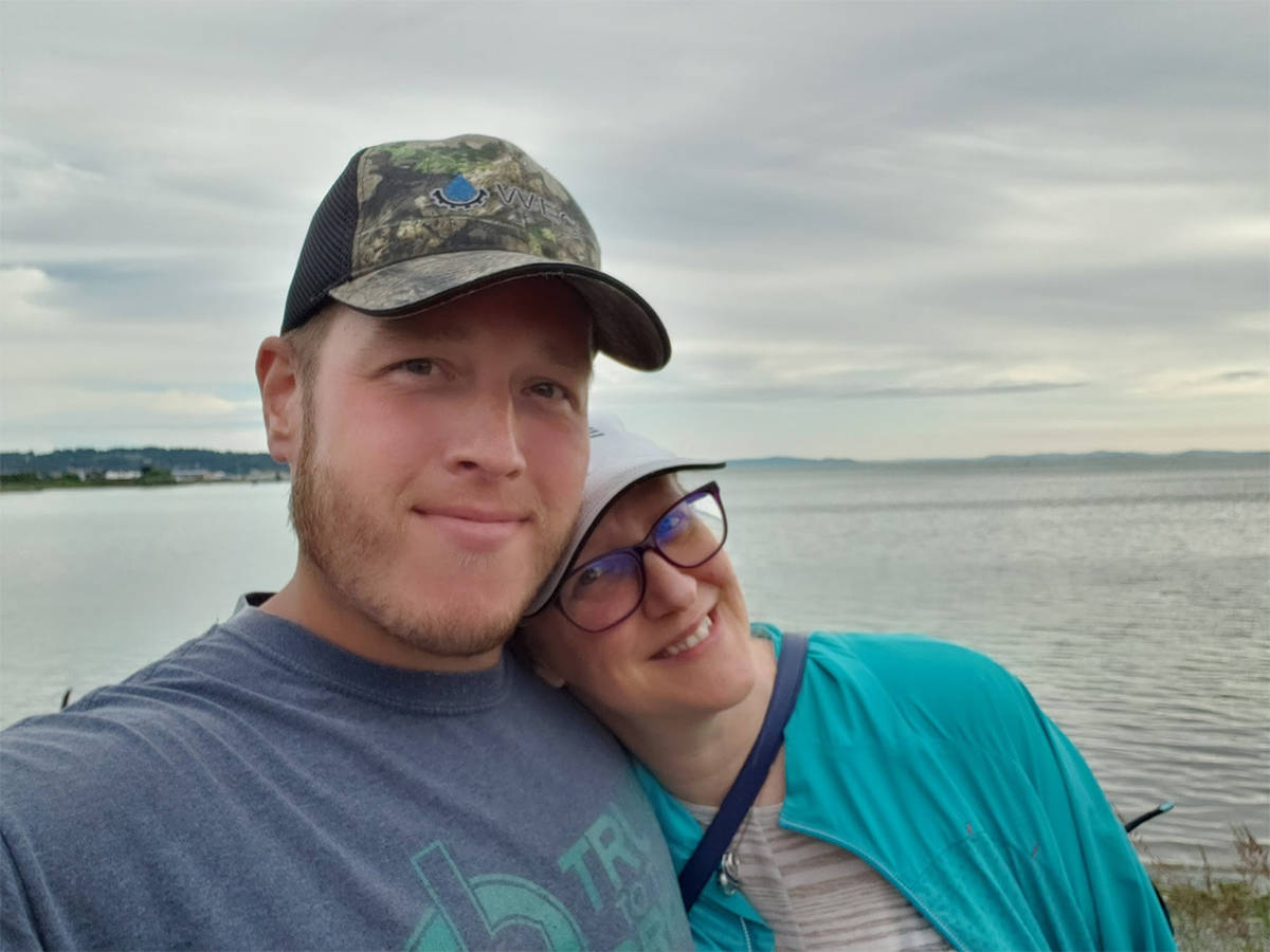 Aaron Moser and Jody Clark were married in February 2020, just as the coronavirus was becoming an international health issue. (Submitted)
