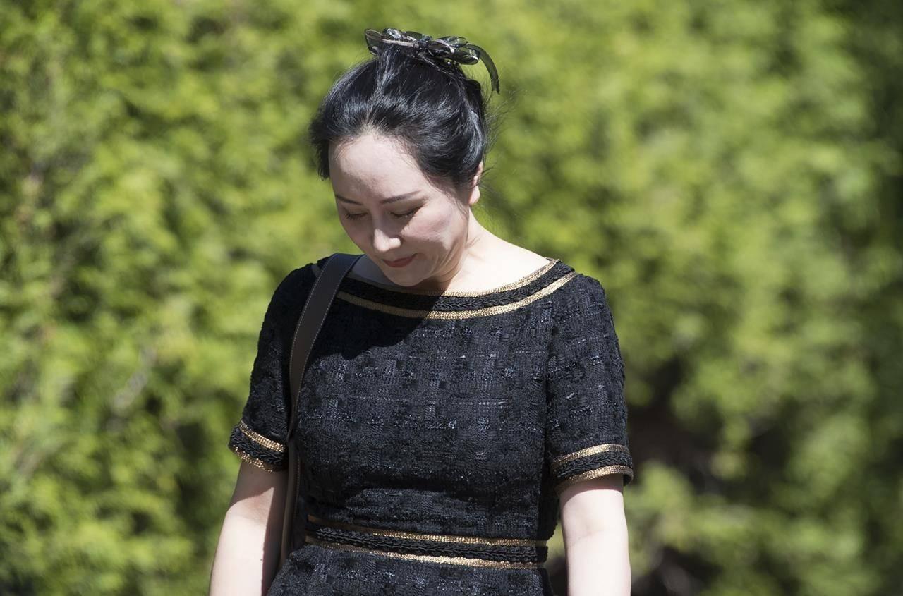Meng Wanzhou (The Canadian Press)
