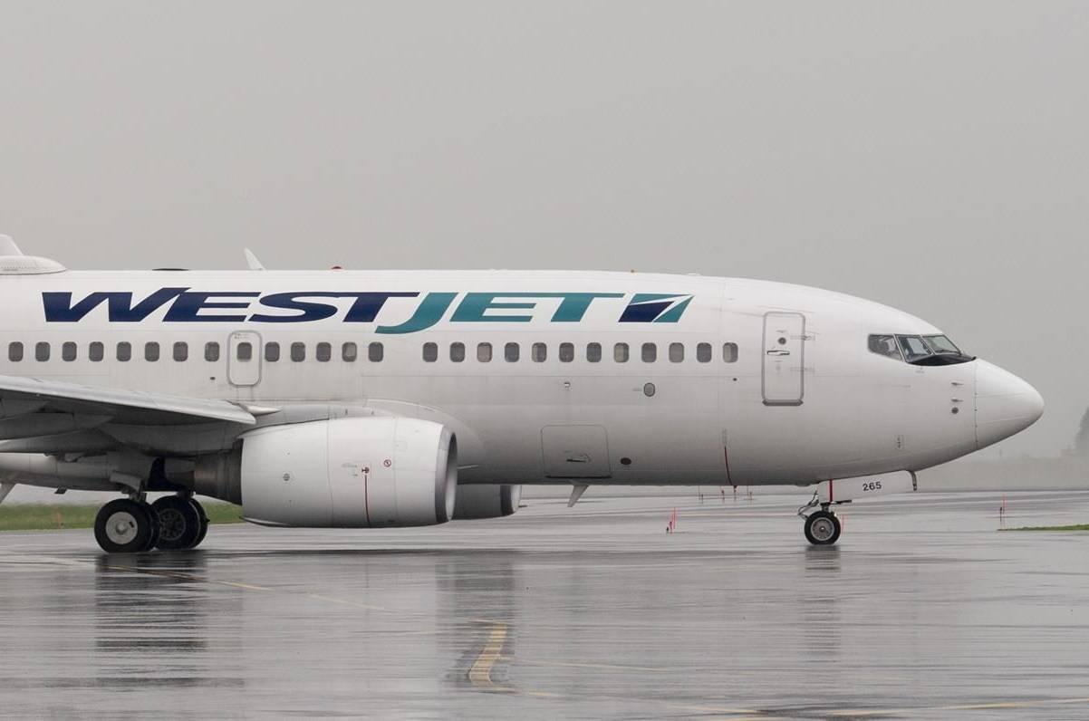 WestJet (The Canadian Press)