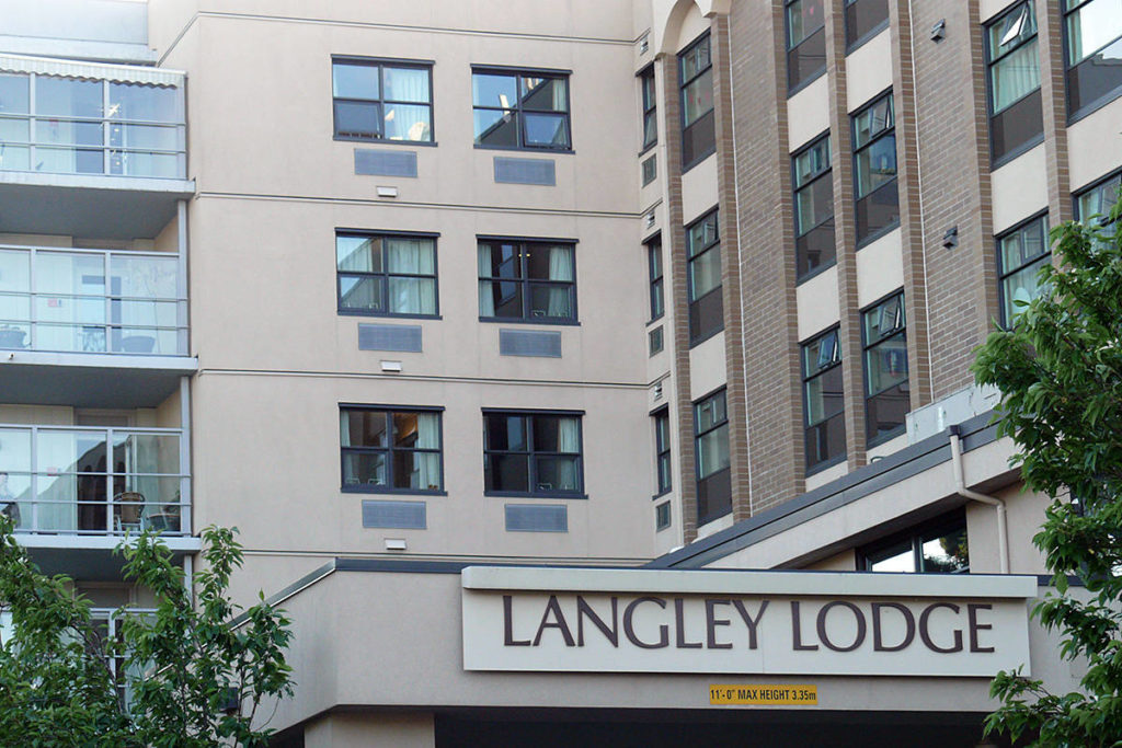 Langley Lodge                                Langley Lodge hopes to have the outbreak declaration lifted later next week. (Langley Advance Times files)