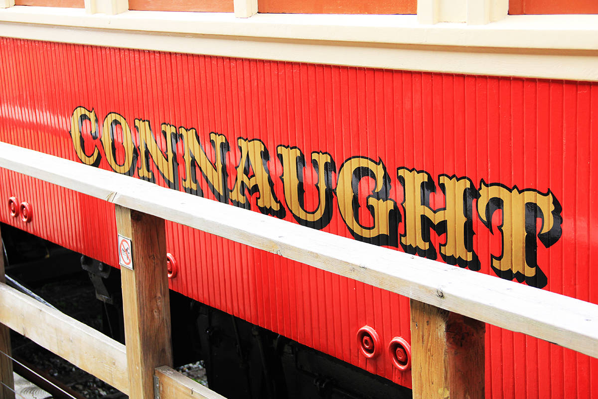 "The ""Connaught"" railcar at the FVHRS. (Photo: Malin Jordan)"
