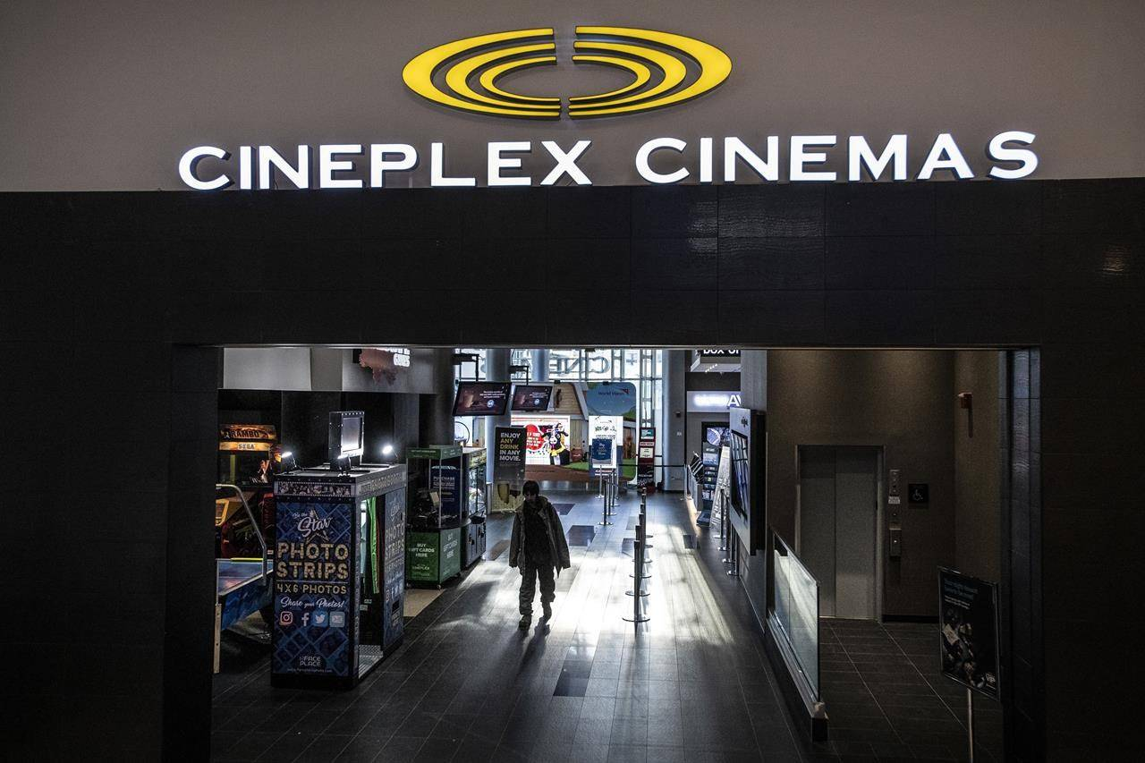 Cineplex Inc., in this undated photo. (The Canadian Press)