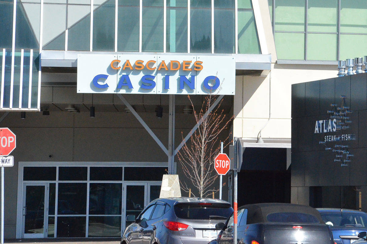 Cascases Casino to remain closed during COVID-19 closures. (Ryan Uytdewilligen/Langley Advance Times)
