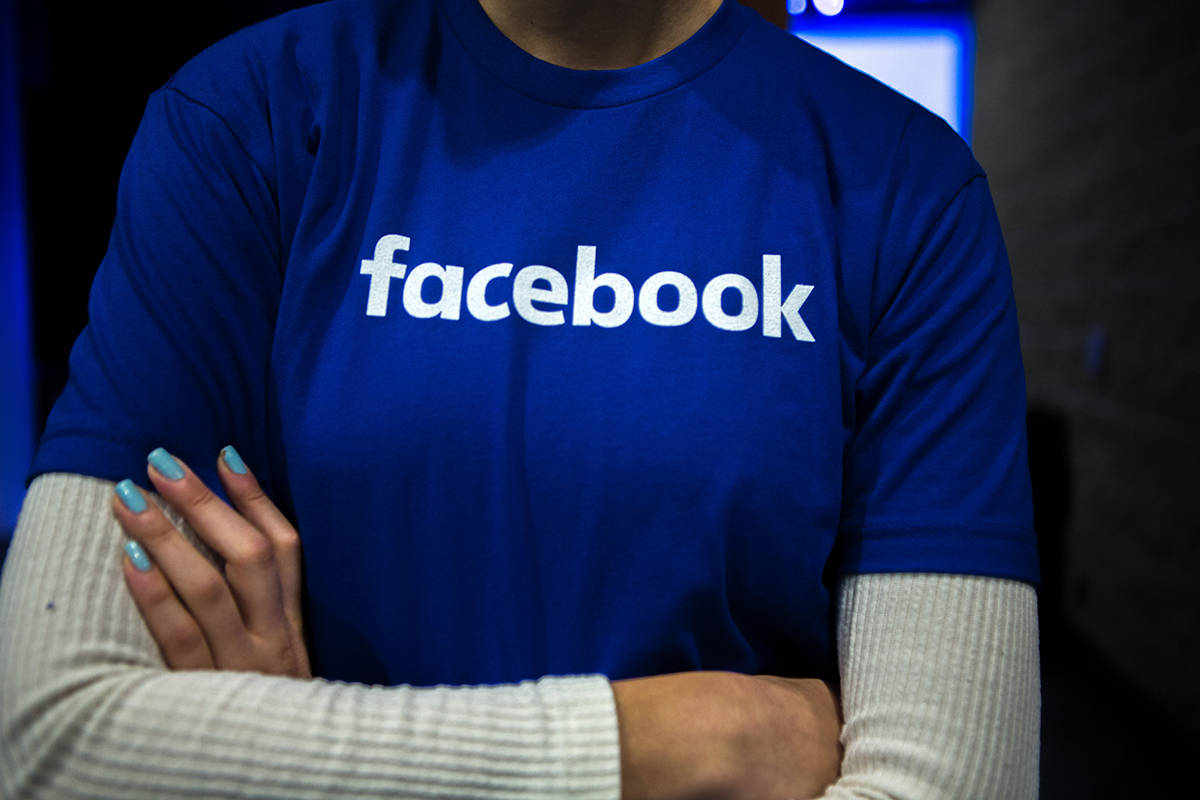 Guest are welcomed by people in Facebook shirts as they arrive at a Facebook Canadian Summit in Toronto on Wednesday, March 28, 2018. Friends of Canadian Broadcasting wants the federal government to drop hosting its virtual Canada Day celebration on Facebook Inc. THE CANADIAN PRESS/Chris Donovan