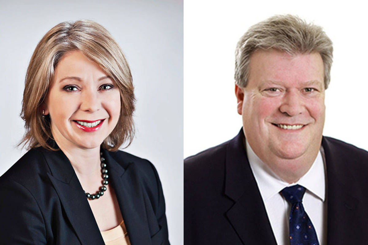 Langley MLAs Mary Polak and Rich Coleman are among the Liberals who used their taxpayer funded communications budgets to buy ads in Langley-based conservative Christian magazine, The Light. (file)