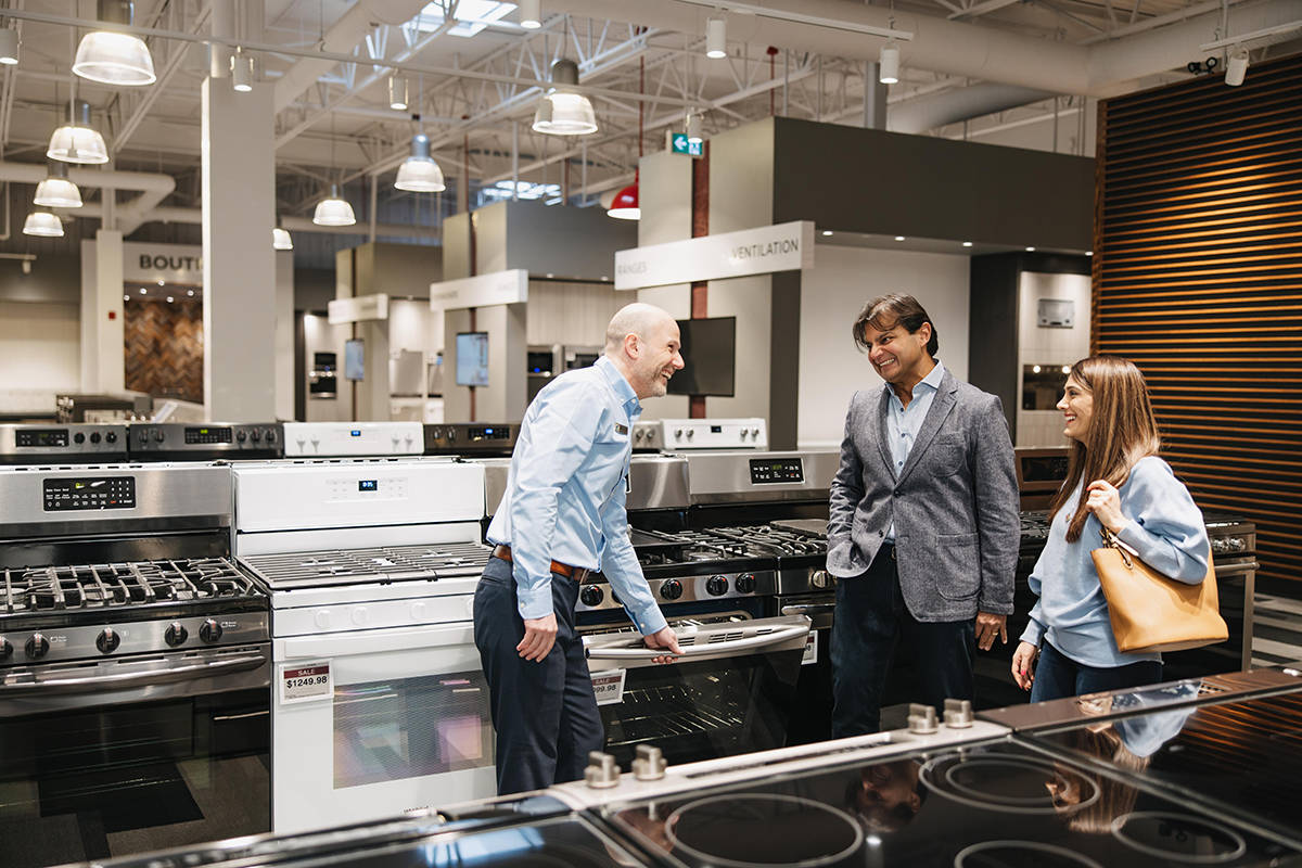 Be inspired for the possibilities for your home at Trail Appliances' new Cloverdale showroom, with 32,000 square feet of products on display.