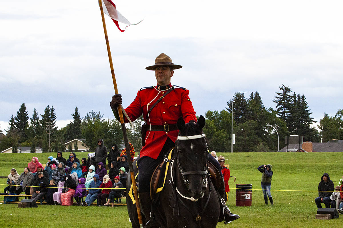 The Royal Canadian Mounted Police was preceded by the North-West Mounted Police. Do you know when this legendary police force was formed? (Todd Colin Vaughan/Lacombe Express photo)
