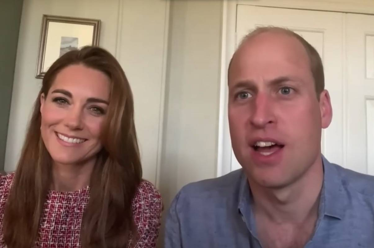 The Duke and Duchess of Cambridge in video posted on Wednesday, July 1. (Youtube photo)