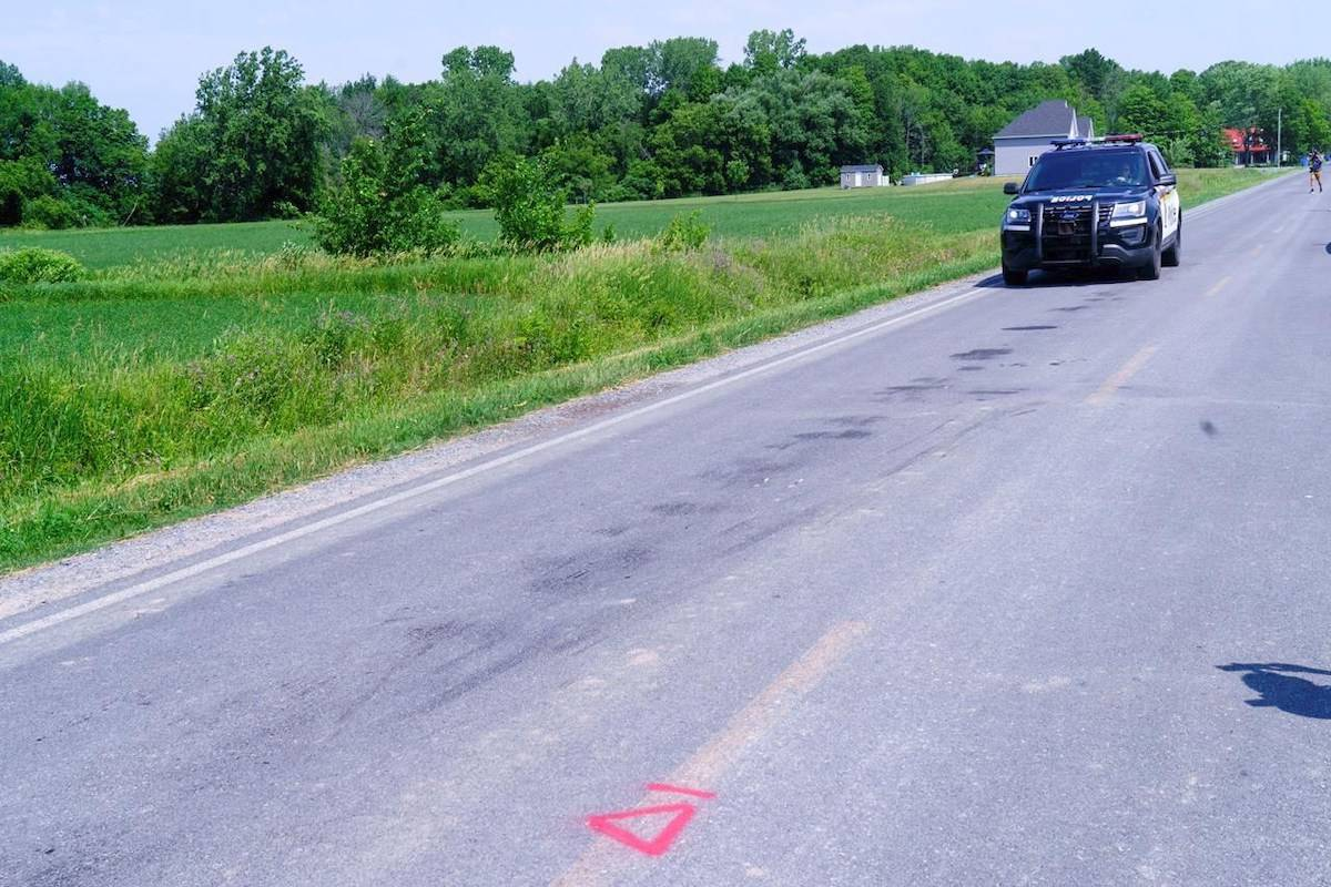 Three children are dead following a incident involving a tractor. Image: Canadian Press