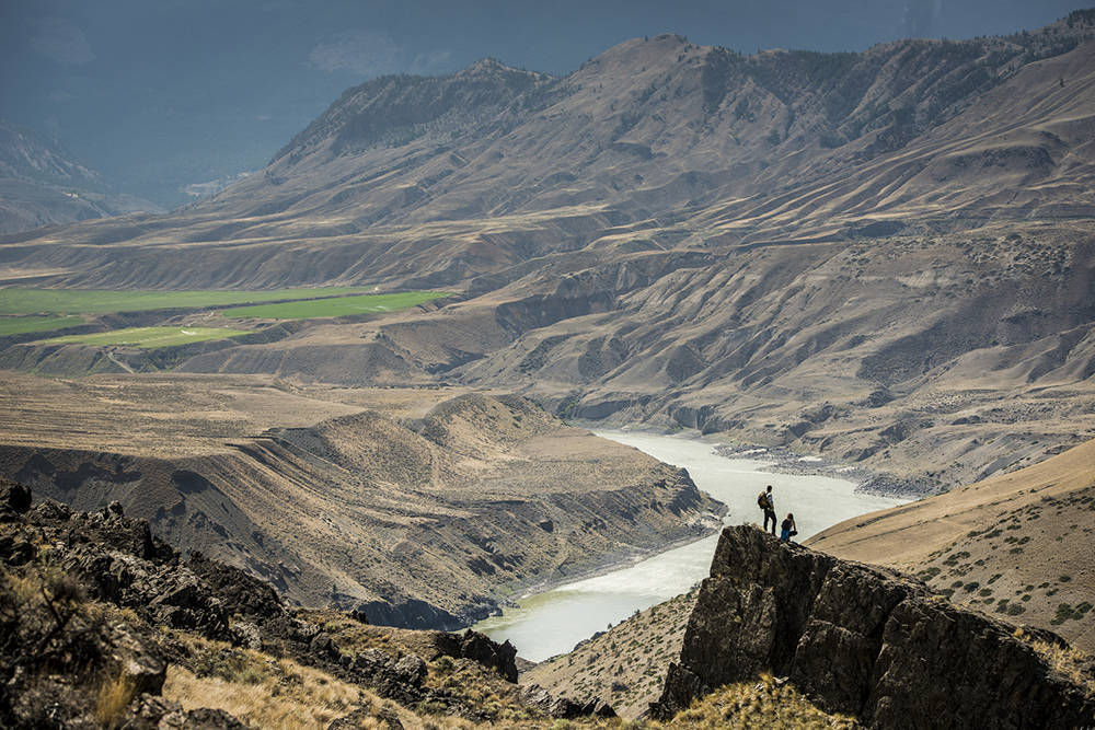 Sweeping ranchlands, grassy vistas and golden plateaus await in BC's interior. Blake Jorgenson photo.