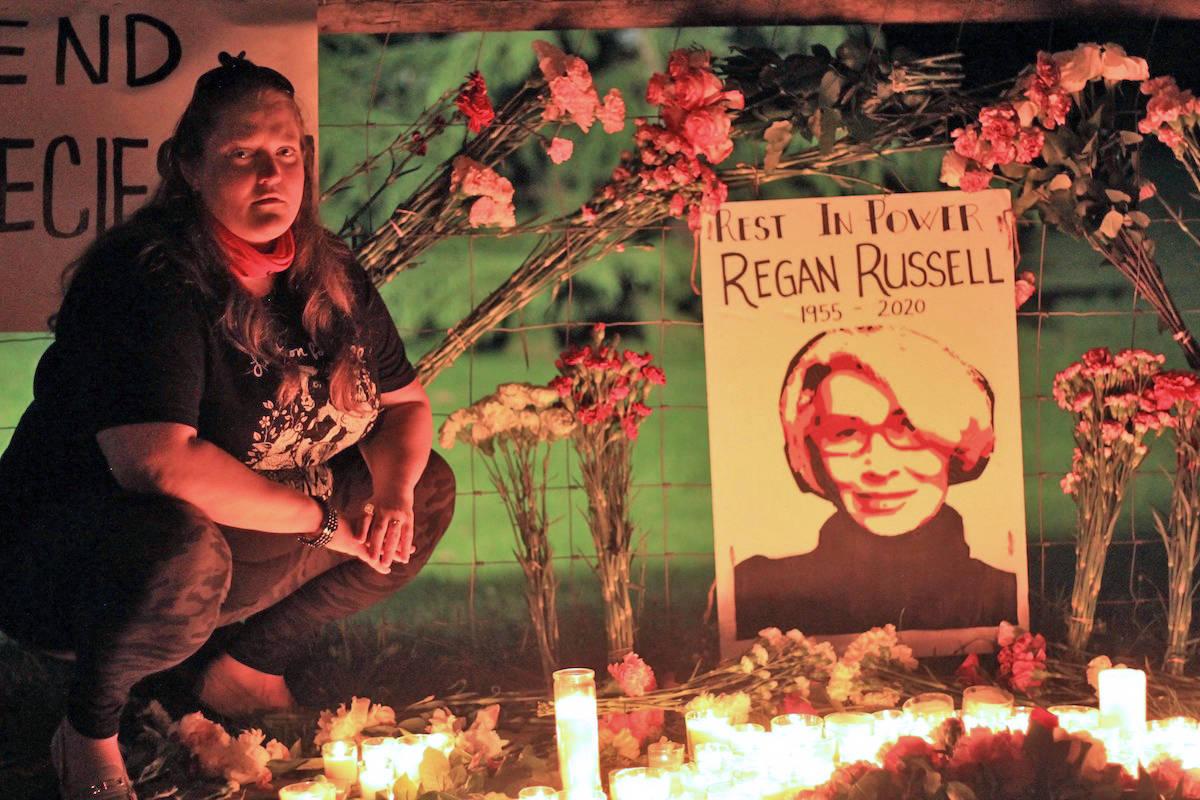 Langley vigil demands justice for Ontario animal activist killed protesting slaughterhouse
