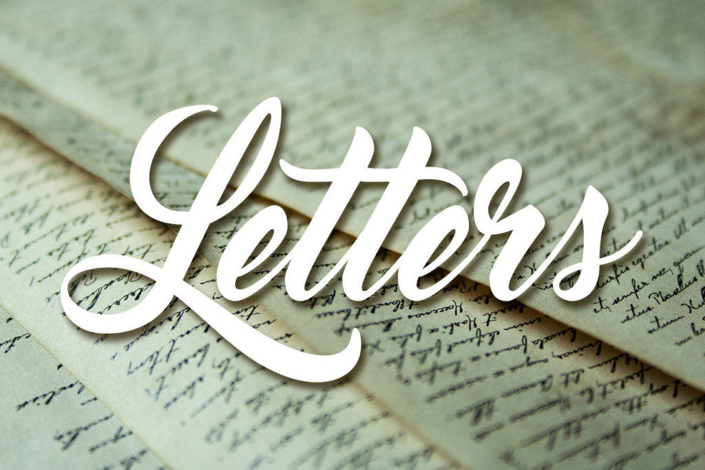If you have a letter you'd like to submit to the editor for consideration, please email us at editor@mapleridgenews.com. Look forward to hearing your thoughts.