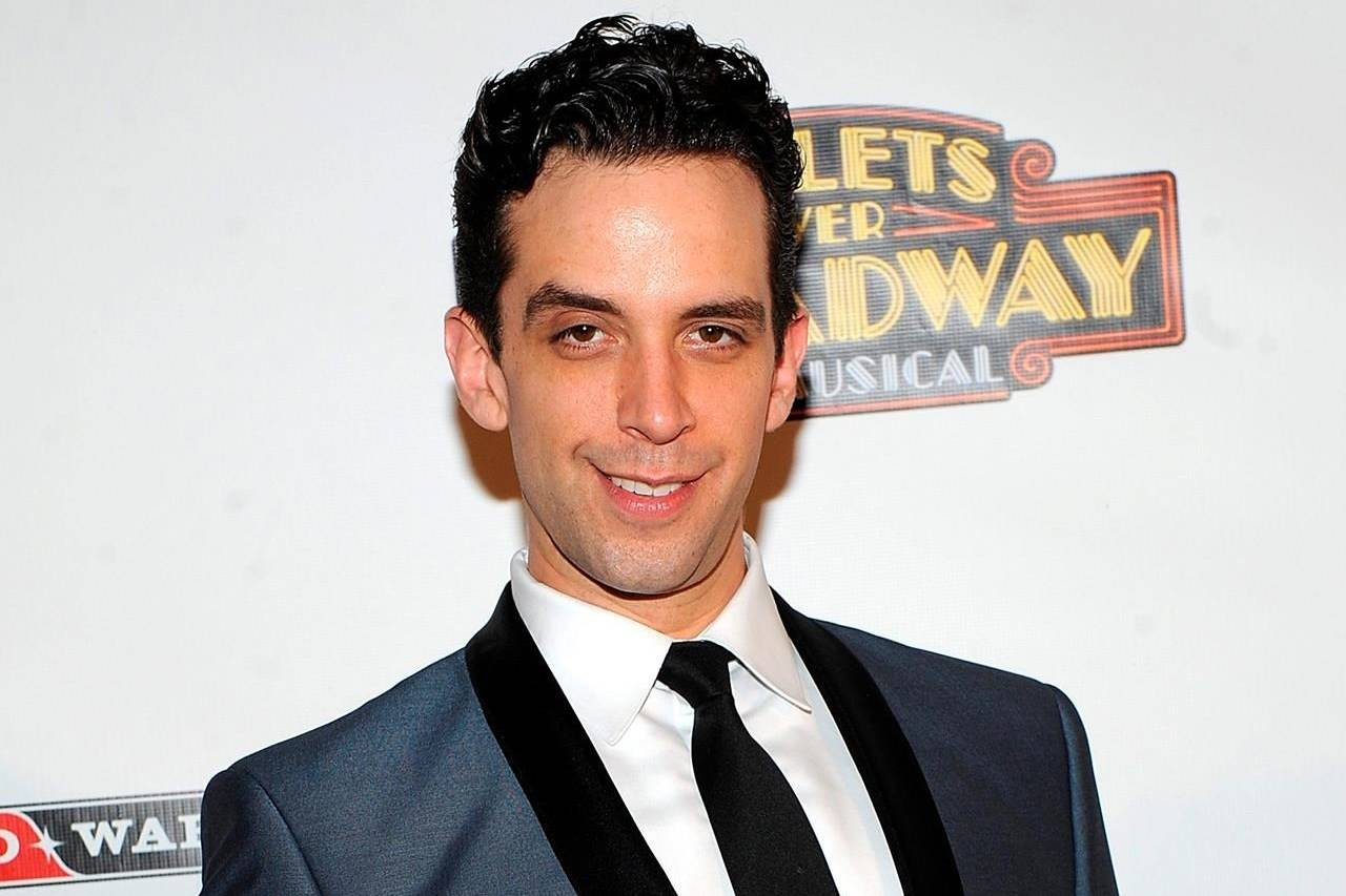 "In this April 10, 2014 file photo, actor Nick Cordero attends the after party for the opening night of ""Bullets Over Broadway"" in New York. Hamilton-raised Broadway star Cordero is in hospital undergoing a test for COVID-19 after being admitted with pneumonia. THE CANADIAN PRESS/AP-Photo by Brad Barket/Invision/AP, File"