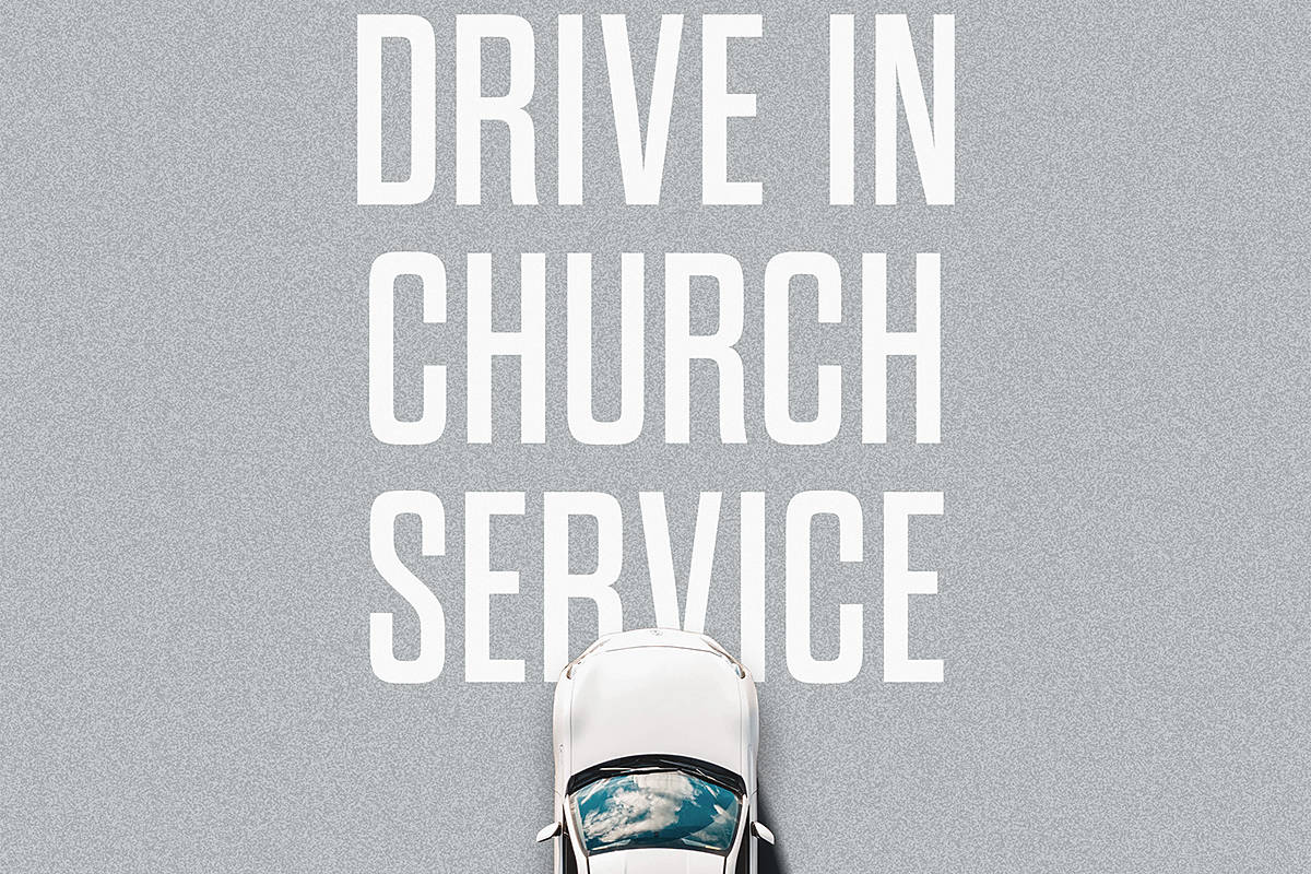 Jericho Ridge Community Church will hold it's second drive-in church service on Aug. 2. (Special to Langley Advance Times)