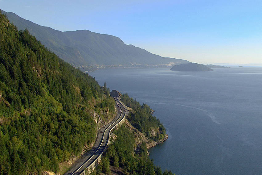 Explore one of BC's best-known regions along the Sea-to-Sky Highway.