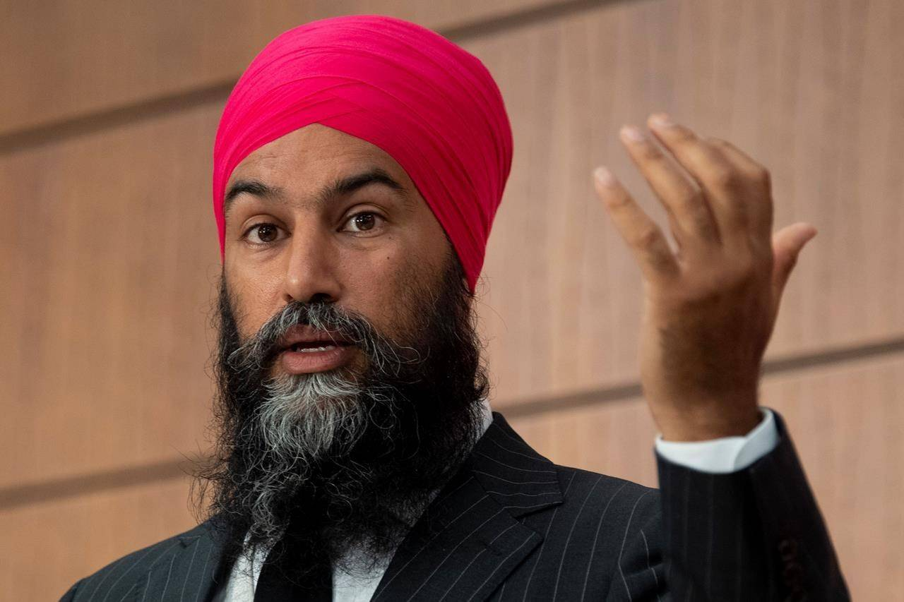 Singh calls on Trudeau to address systemic racism in police forces