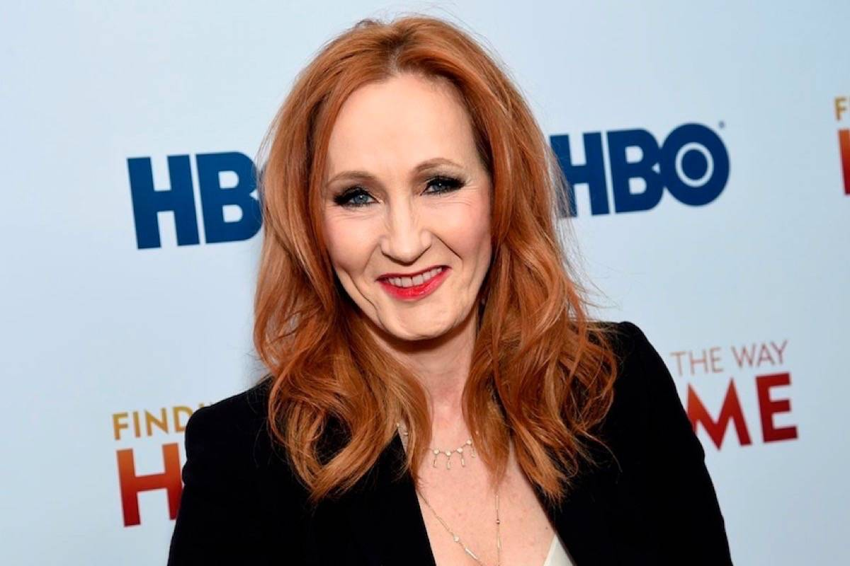 """""""Harry Potter"""" author J.K. Rowling drew outrage on Twitter, in a story on June 6, 2020. (File photo by THE ASSOCIATED PRESS)"""