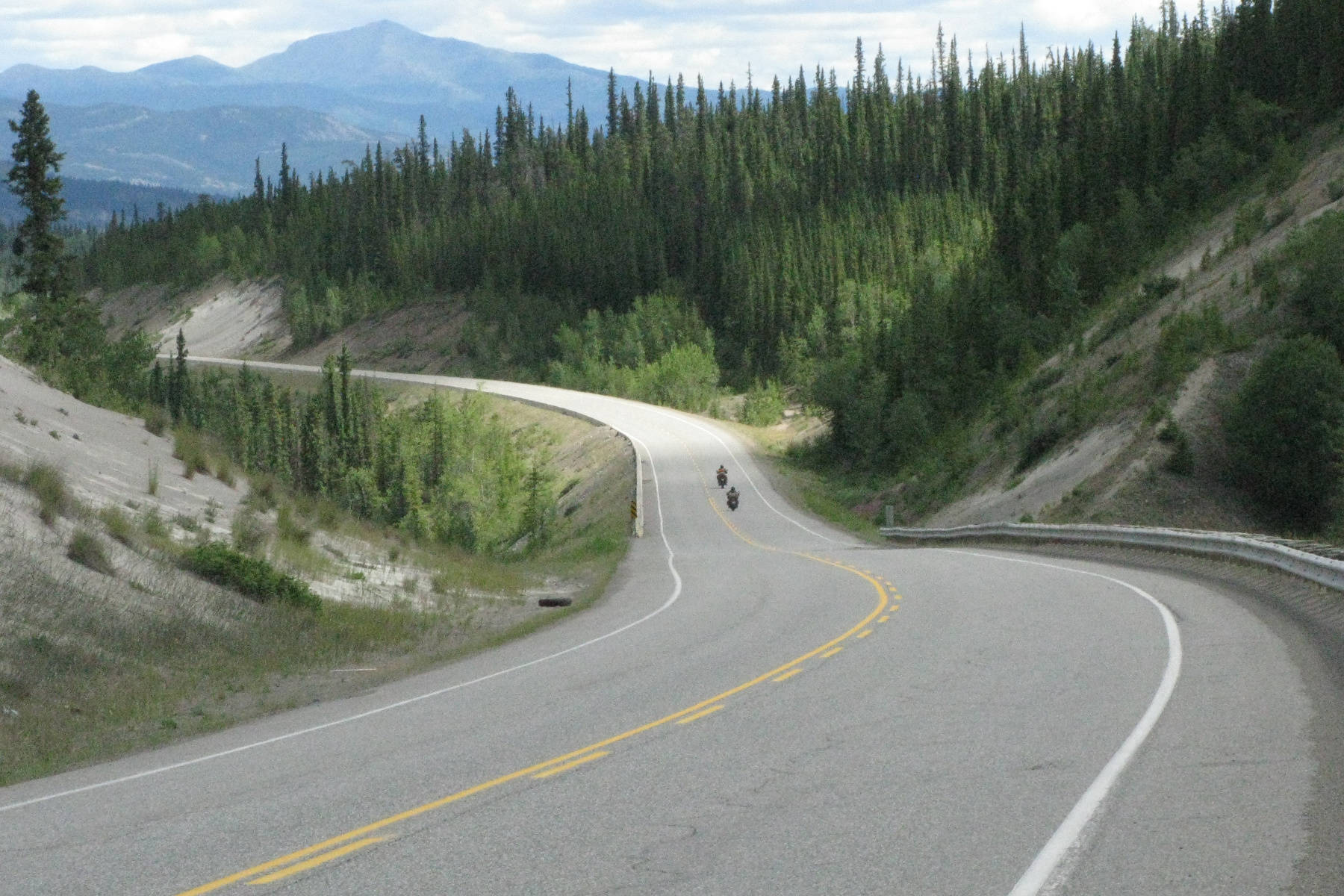 The Alaska Highway begins in British Columbia and ends in Alaska. Do you know the length of the Canadian portion of this famous highway? (John Arendt - Black Press)