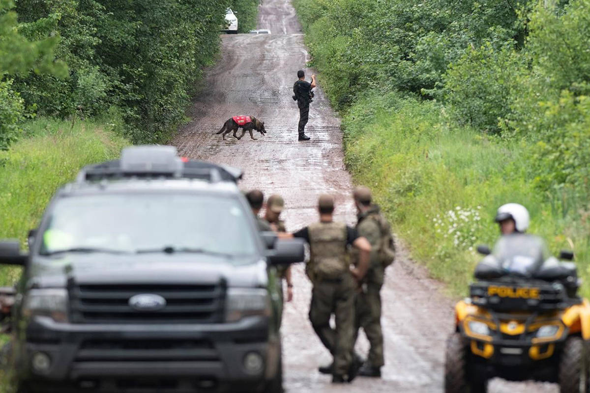 Quebec police continue search for father, one day after missing girls found dead