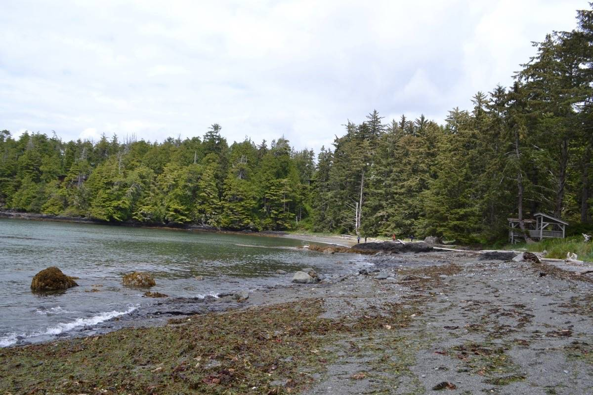 The Priestley family has put their resort at Ucluelet's tranquil Terrace Beach on the market. (Nora O'Malley photo)