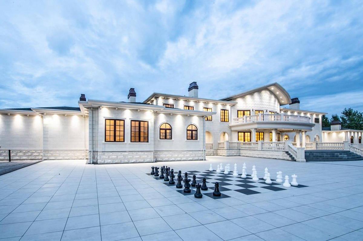 PHOTOS: Inside a newly-listed $22M mega-mansion on ALR land in B.C.