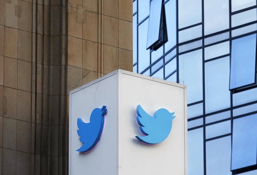 Twitter logo. (AP Photo/Jeff Chiu)