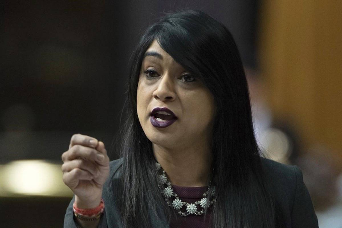 The House of Commons finance committee is set to hear from Youth Minister Bardish Chagger about the aborted deal with WE Charity, in a July 16, 2020 story. (Photo by THE CANADIAN PRESS)