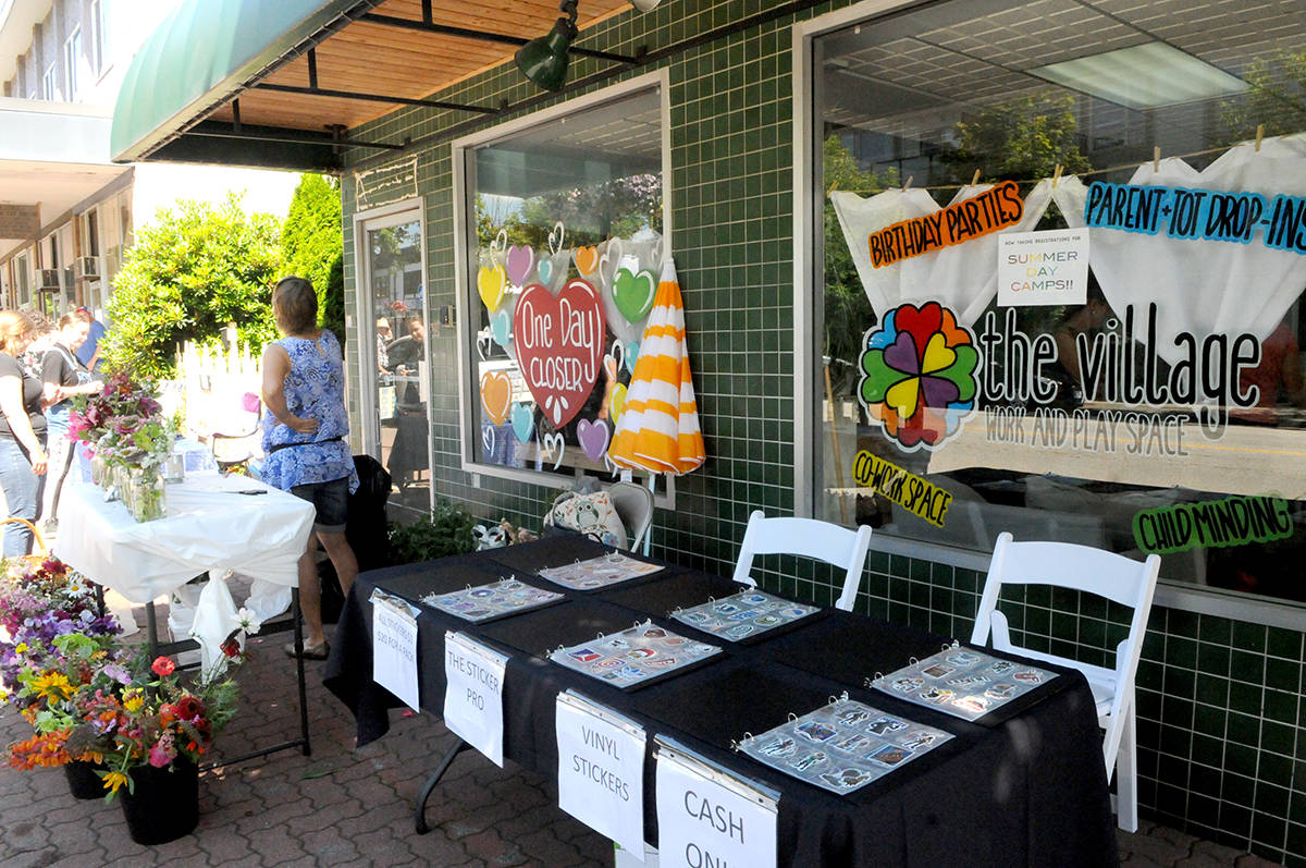 Organizers of brand new downtown Langley craft market hope to fill a void this summer