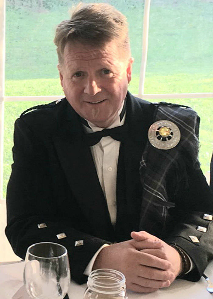 Abbotsford Police Const. Allan Young is on life support following an incident that occurred in Nelson on Thursday, July 16. (Submitted photo)