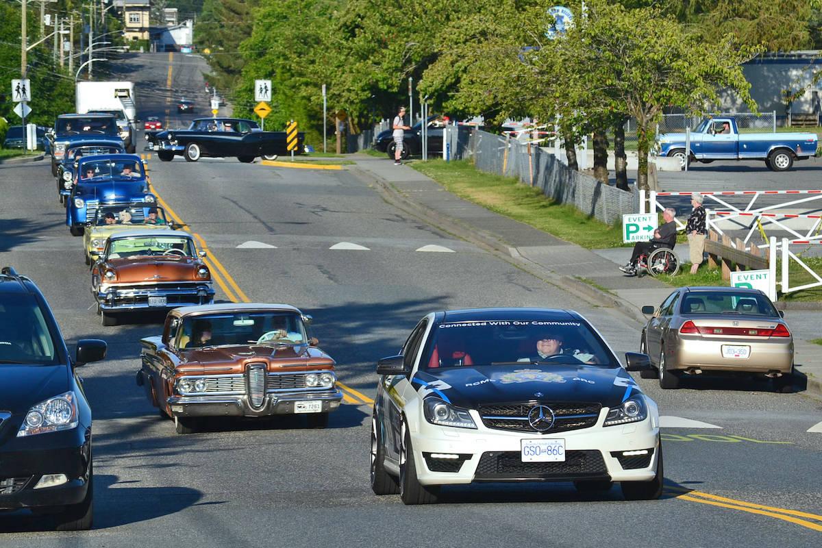 108th Aldergrove Fair kicks off with a socially distant car cruise