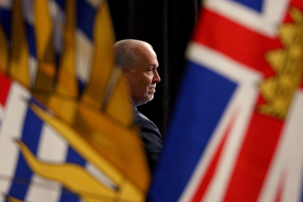 British Columbia has entered the longest period in a state of emergency in its history and there's no end in sight, says Premier John Horgan. Premier Horgan is seen during a discussion on reopening the province's economy in phases in response to the COVID-19 pandemic at the provincial legislature in Victoria, Wednesday, May 6, 2020. THE CANADIAN PRESS/Chad Hipolito