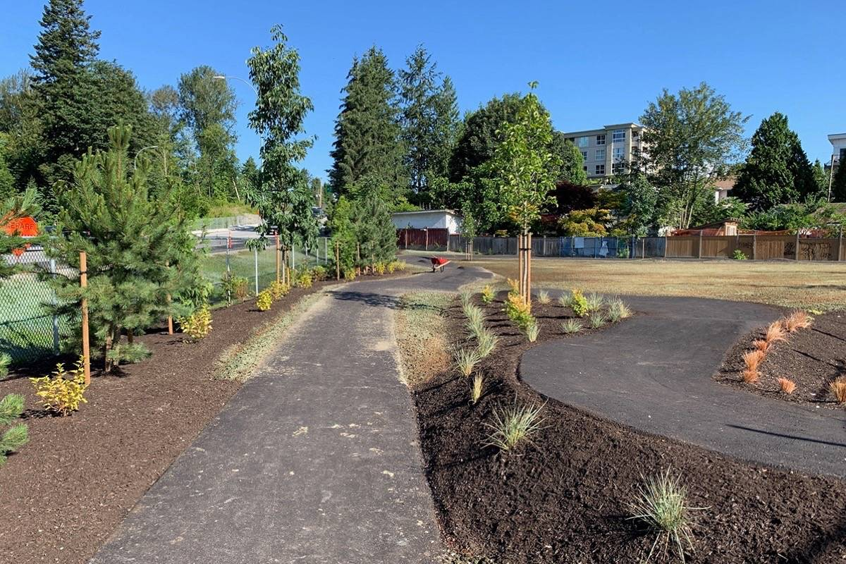 Beckett Park will feature a scooter pathway, picnic tables and benches and shade trees. (City of Maple Ridge photo)