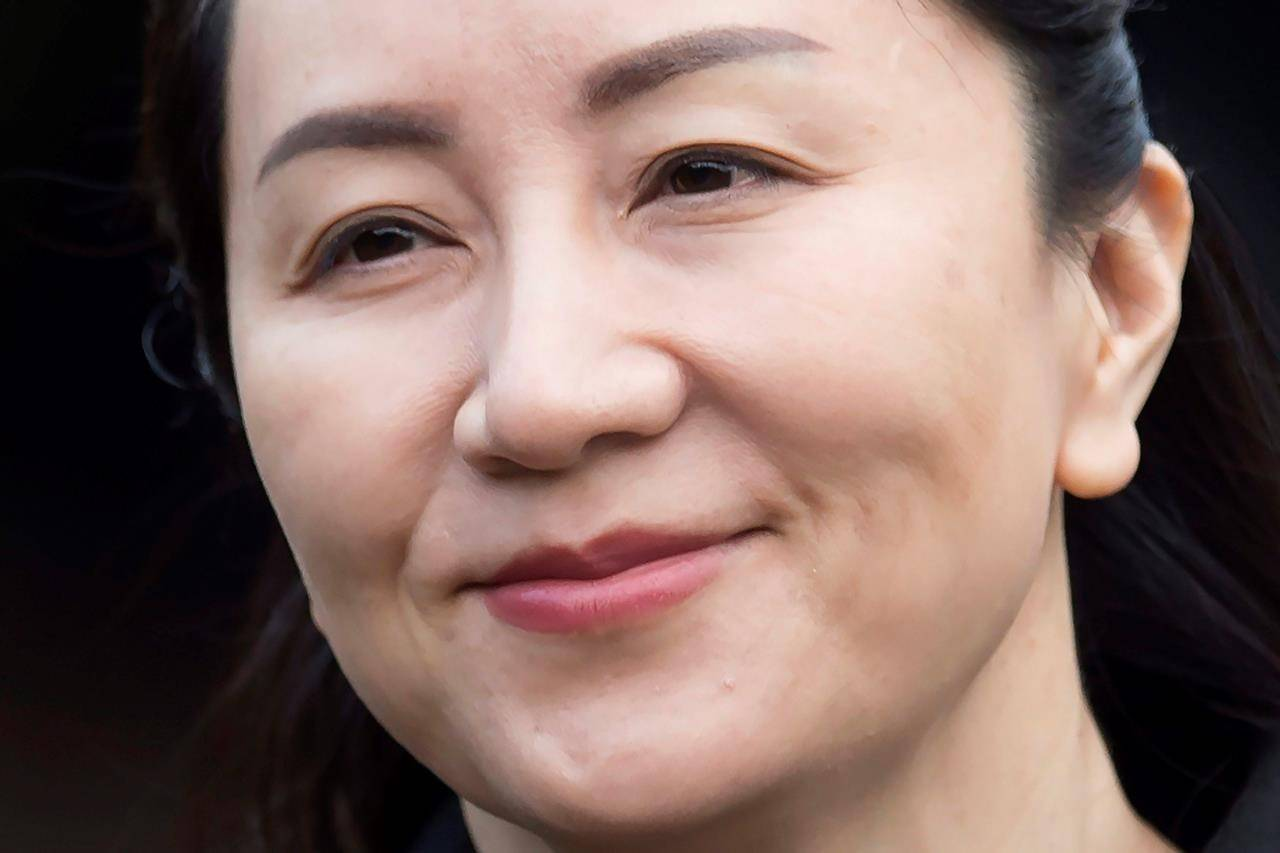 Meng Wanzhou (The Canadian Press)