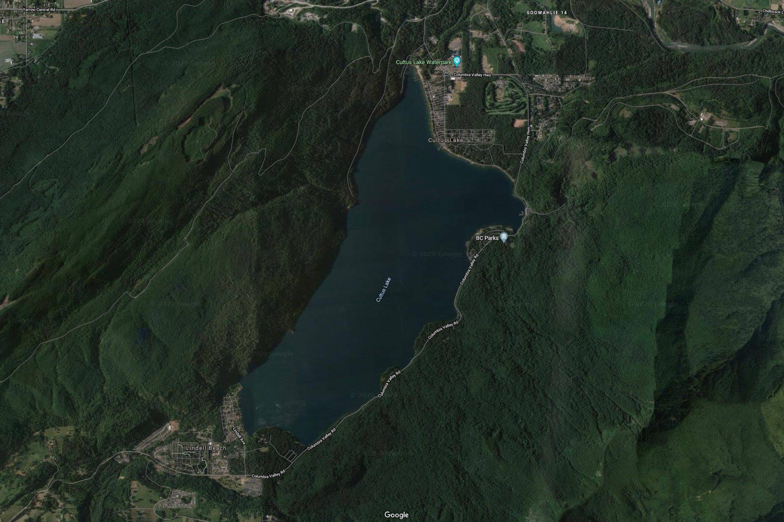 Cultus Lake Fire Department has been called to a possible drowning at or near Entrance Bay. (Google Maps)